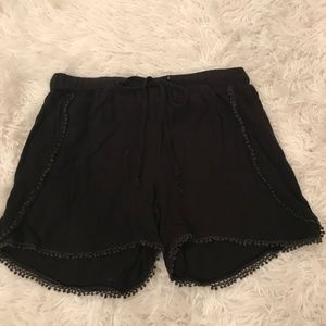 Black Loose Shorts
